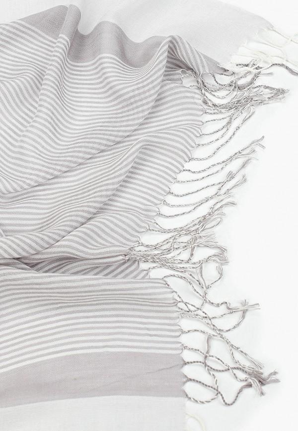 Фото 2 - мужской шарф Sela серого цвета