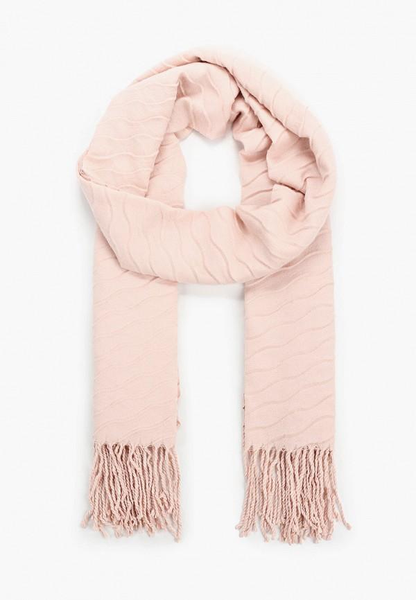женский палантин sela, розовый