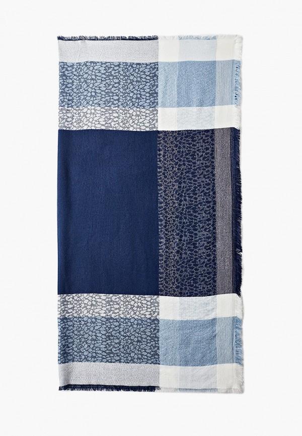 женский платок sela, синий