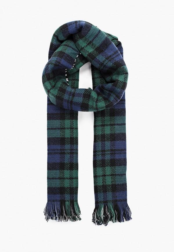 женский шарф sela, зеленый