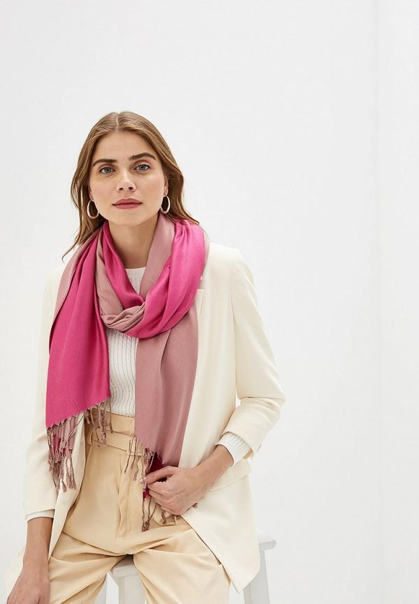 Фото 3 - Палантин Sela розового цвета