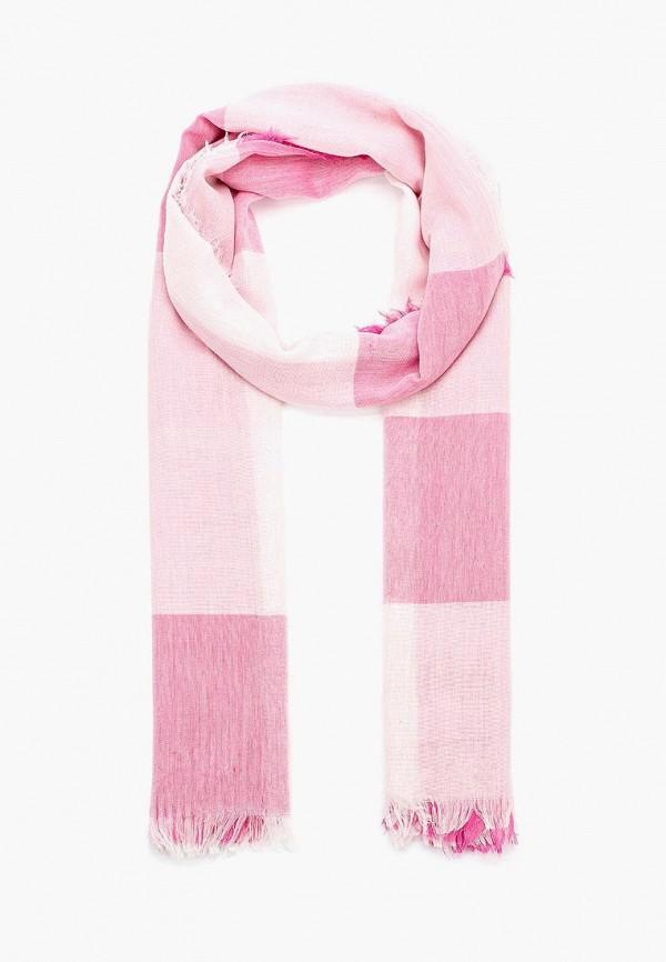 Купить женский палантин Sela розового цвета