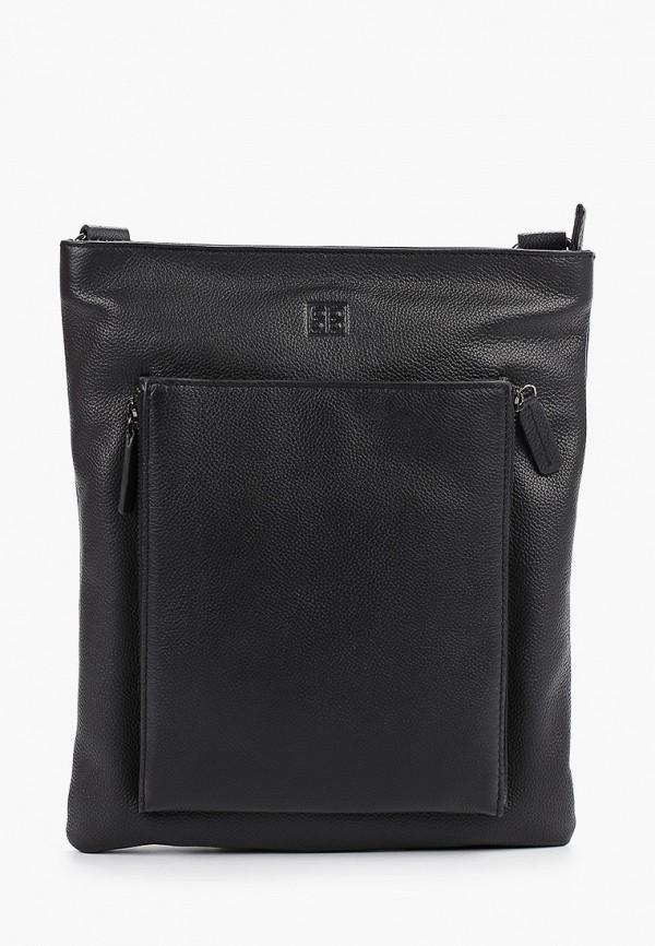 мужская сумка sergio belotti, черная