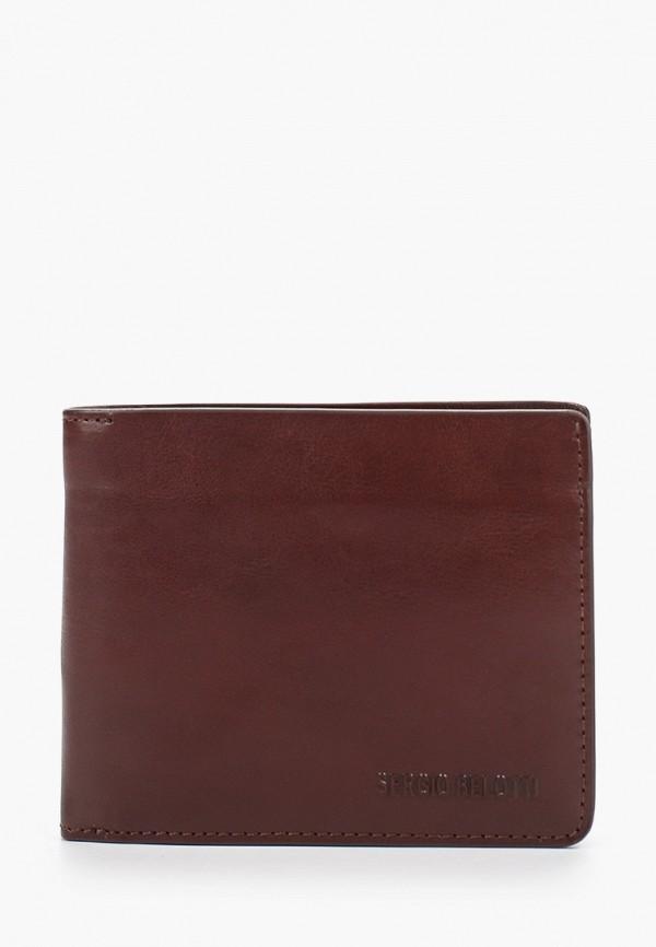 мужской кошелёк sergio belotti, коричневый