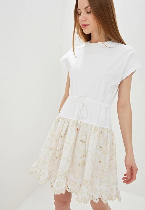 Платье See by Chloe See by Chloe SE011EWDUXQ4 рубашка see by chloe