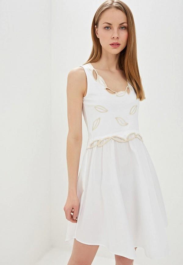 женское повседневные платье see by chloe, белое