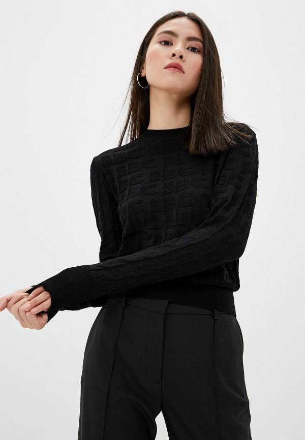женский свитшот see by chloe, черный