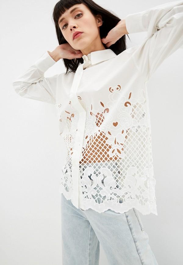 женская блузка see by chloe, белая