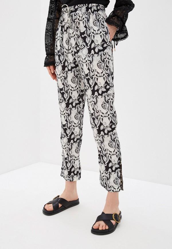женские брюки джоггеры see by chloe, белые