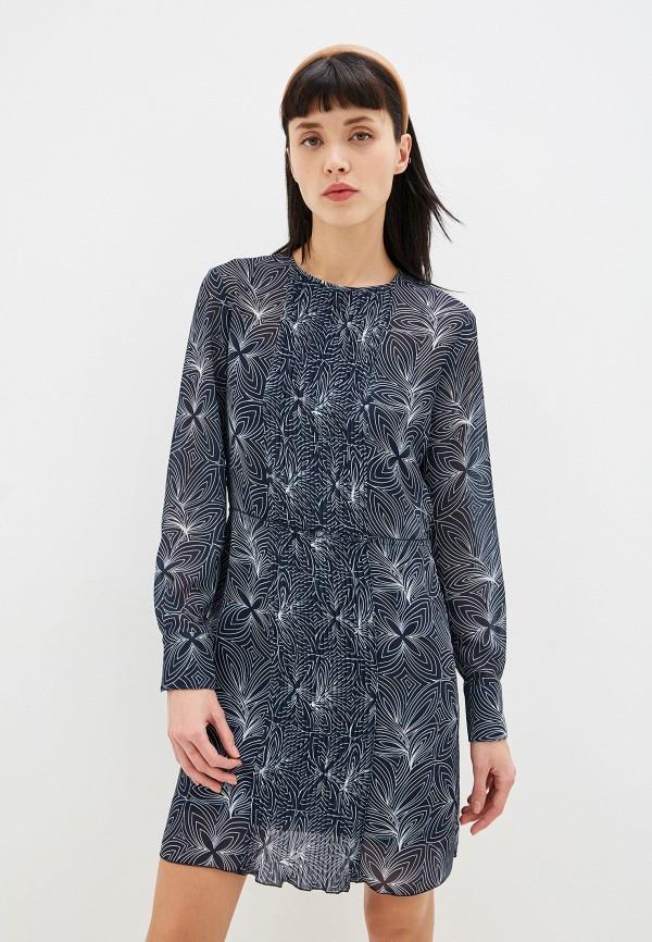 женское платье миди see by chloe, синее