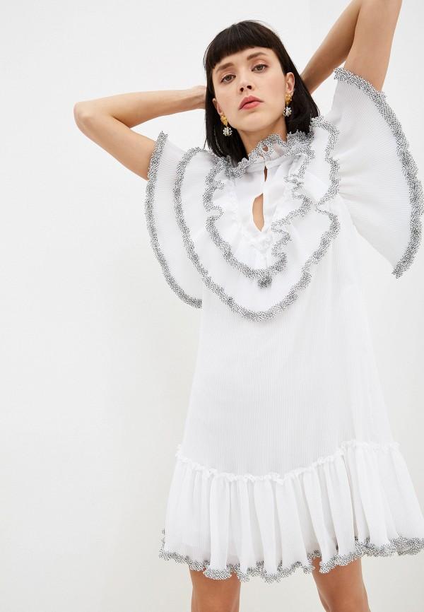 женское вечерние платье see by chloe, белое