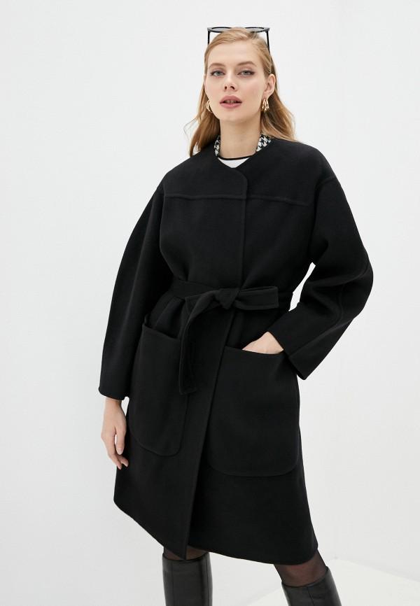 женское пальто see by chloe, черное