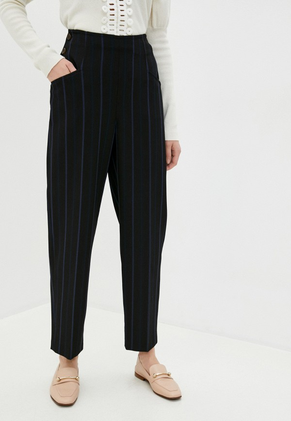 женские повседневные брюки see by chloe, черные