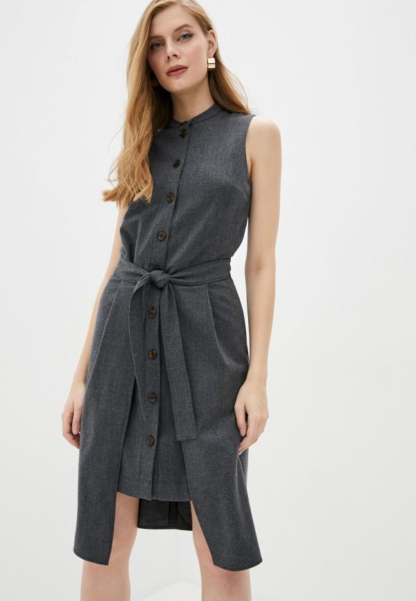 женское повседневные платье see by chloe, серое