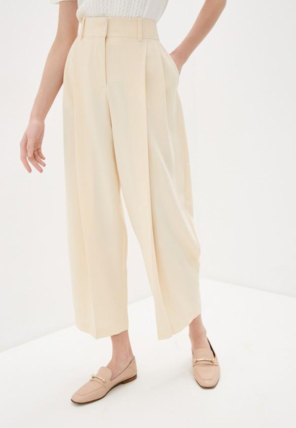 женские повседневные брюки see by chloe, бежевые