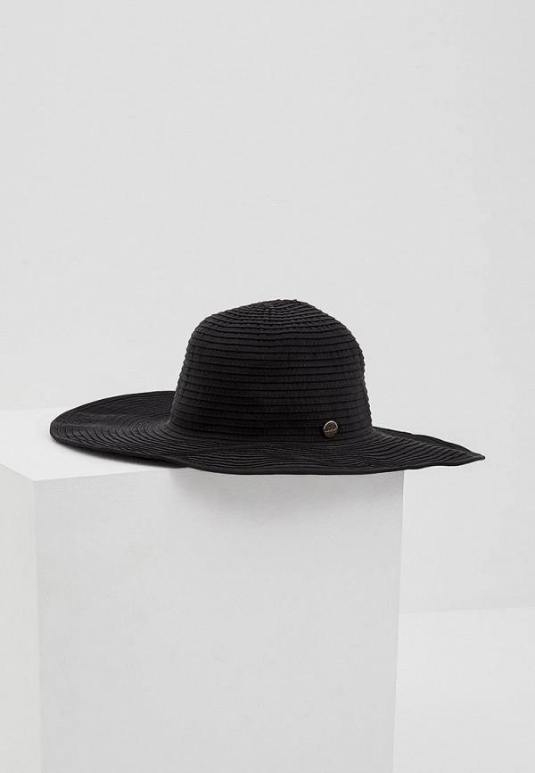 женская шляпа seafolly australia, черная