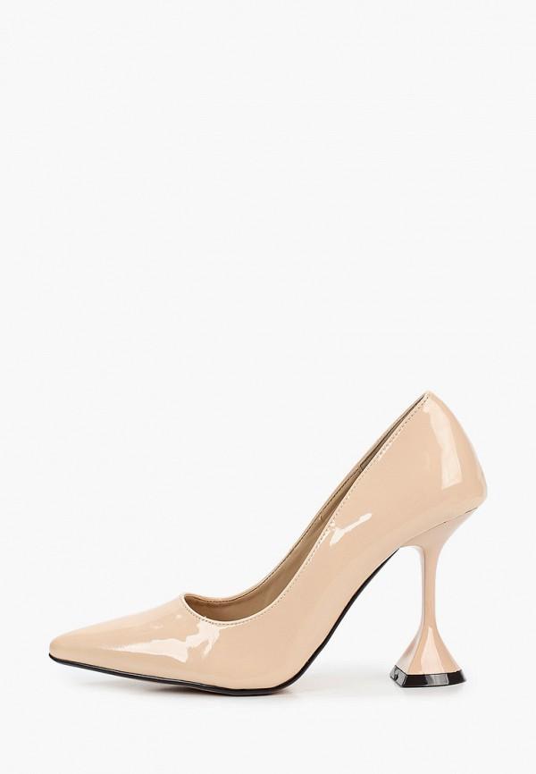 женские туфли sergio todzi, бежевые