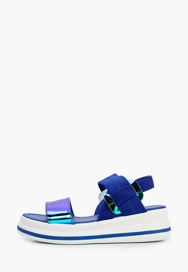 женские сандалии sergio todzi, синие