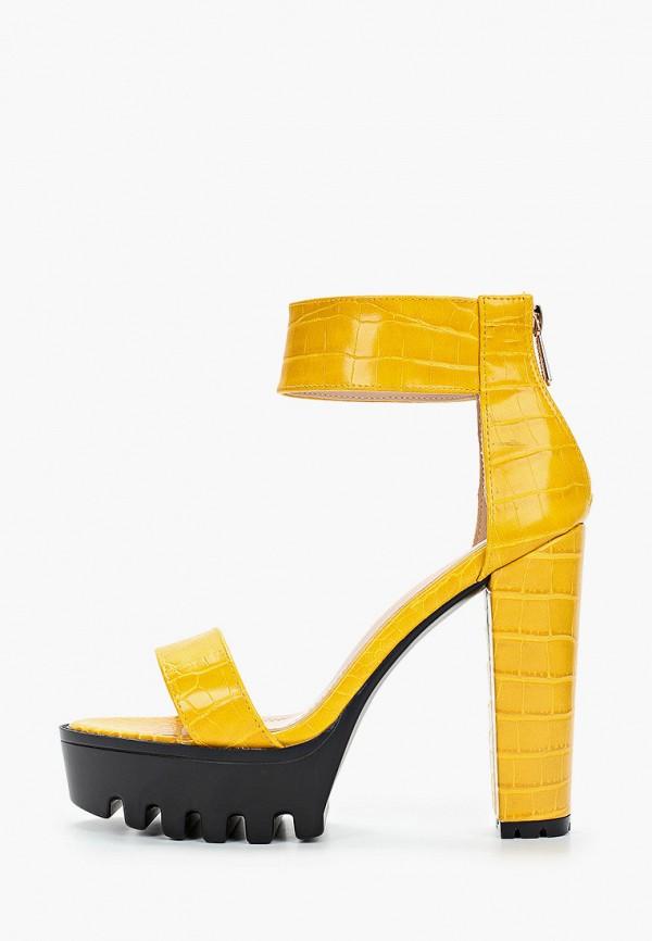 женские босоножки sergio todzi, желтые