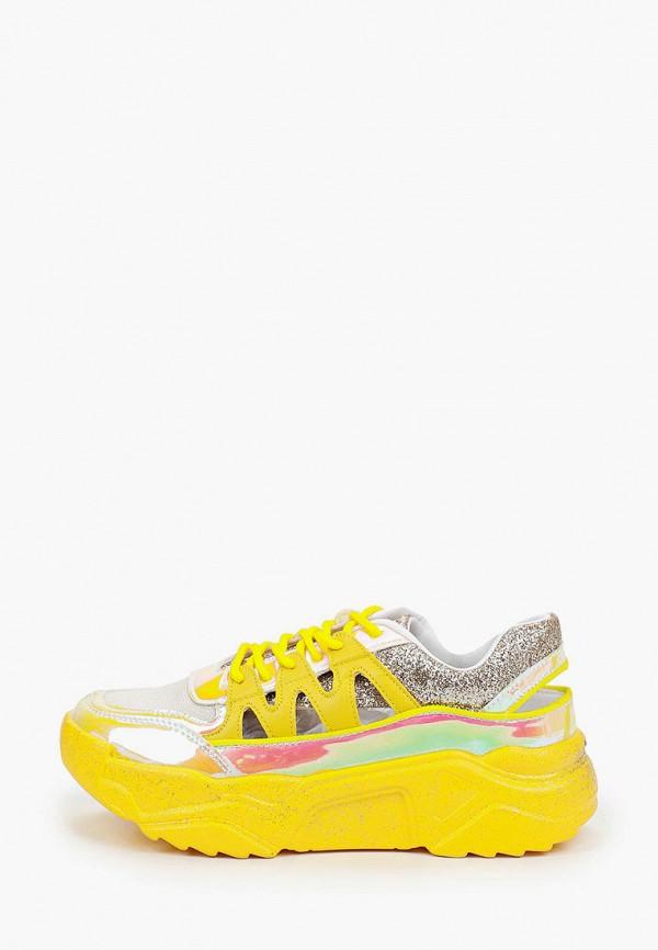 женские кроссовки sergio todzi, желтые