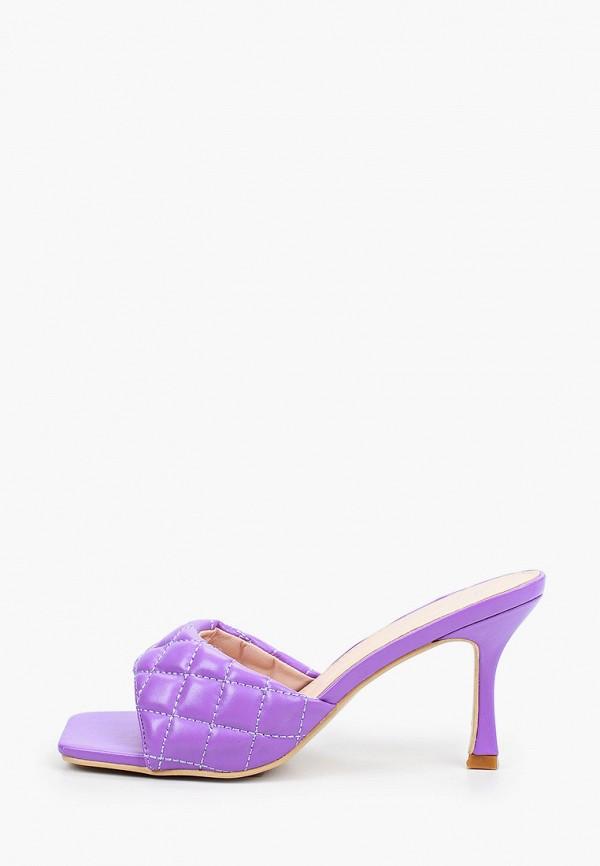 женское сабо sergio todzi, фиолетовое