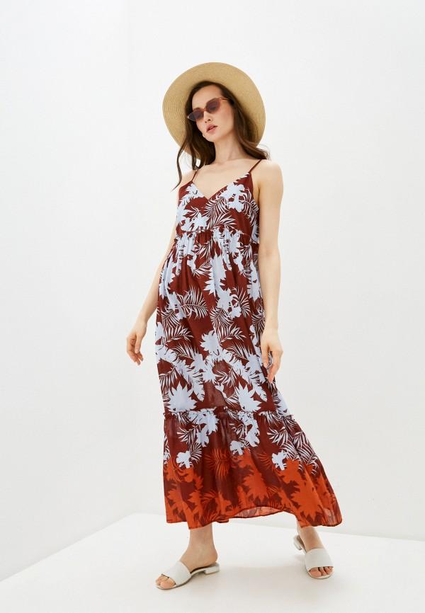 женское платье seafolly australia, коричневое