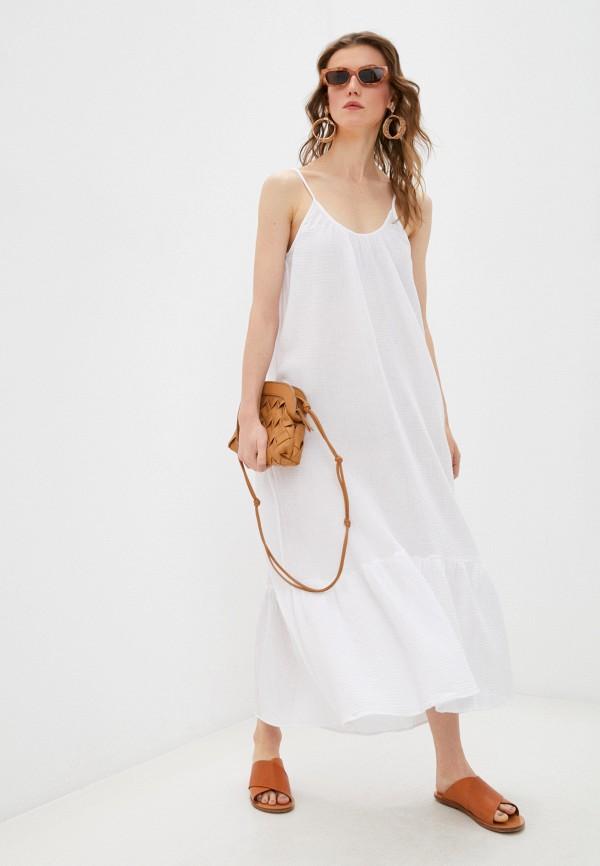 женское платье seafolly australia, белое