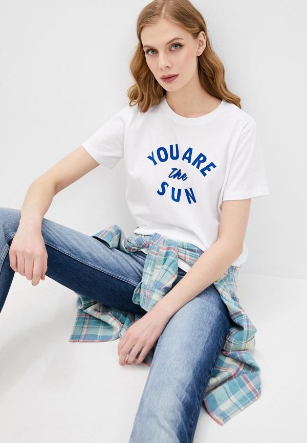 женская футболка seafolly australia, белая