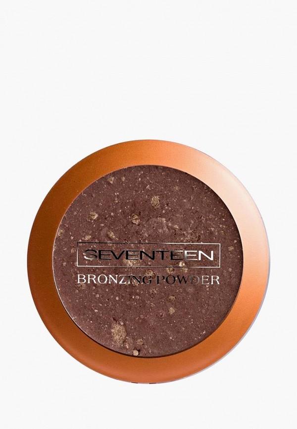 Купить Бронзатор Seventeen, Компактный т.04 темный загар, se039lwcmpv7, прозрачный, Весна-лето 2019