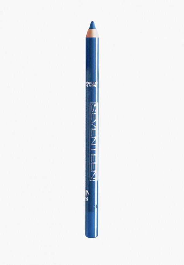 карандаш для глаз seventeen, синий