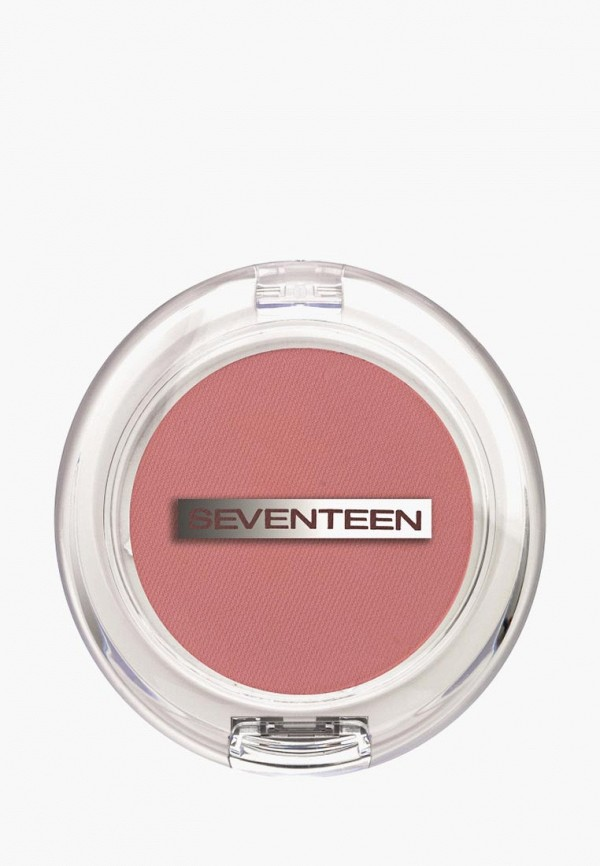 румяна seventeen, розовая