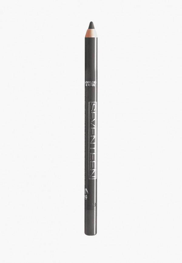 карандаш для глаз seventeen, серый