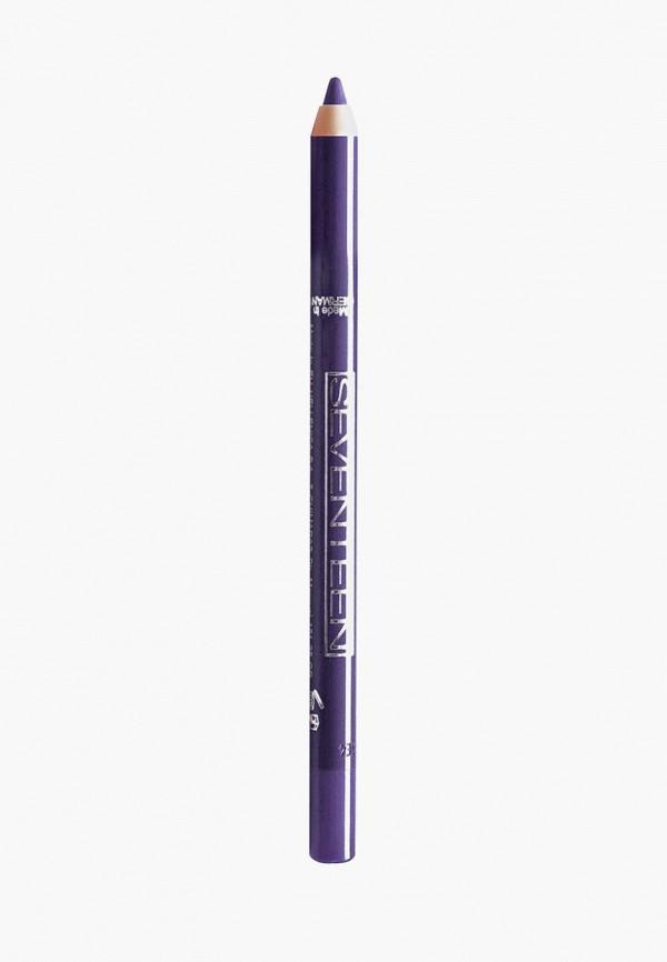 Купить Карандаш для глаз Seventeen, водостойкий т.44 Super Smooth W/P&Longstay зимний пурпур, se039lwuwy42, синий, Весна-лето 2019