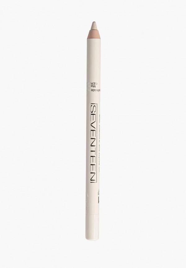 карандаш для глаз seventeen, белый