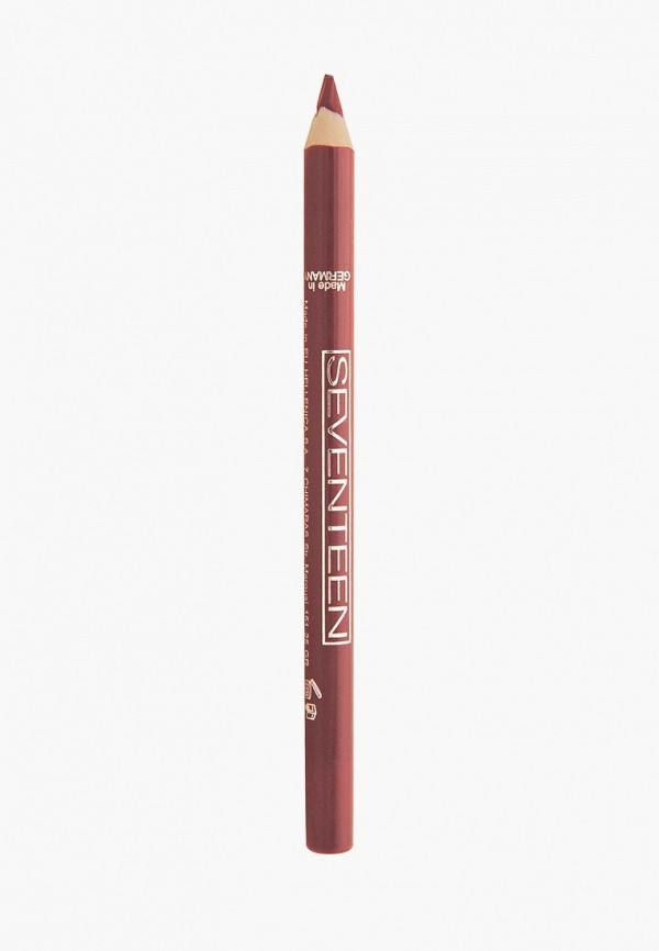 Карандаш для губ Seventeen Seventeen SE039LWUWY68 seventeen super smooth waterproof lip liner карандаш для губ водостойкий тон 02 розовый 1 2 гр