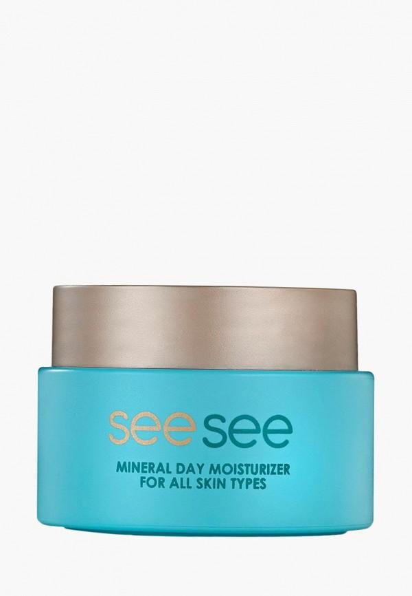 Купить Крем для лица SeeSee, Минеральный дневной увлажняющий 50 мл, se046lwdcpc2, прозрачный, Осень-зима 2018/2019