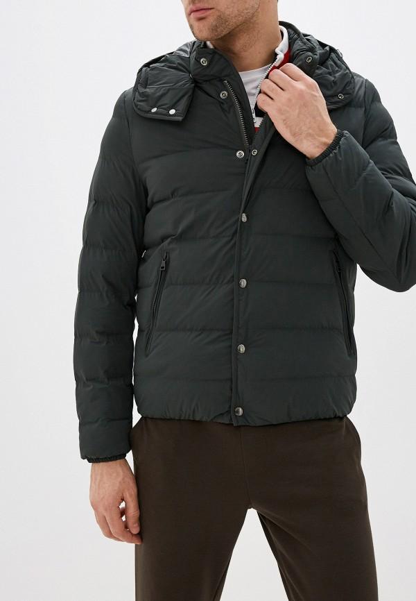 мужская утепленные куртка seventy, зеленая