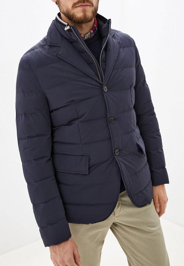 мужская утепленные куртка seventy, синяя