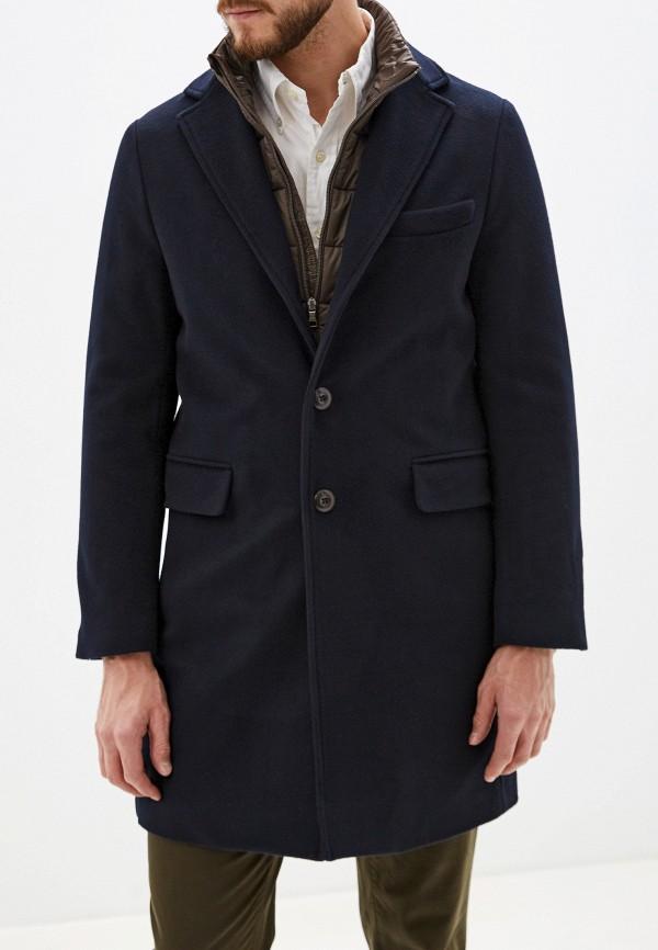 мужское пальто seventy, синее