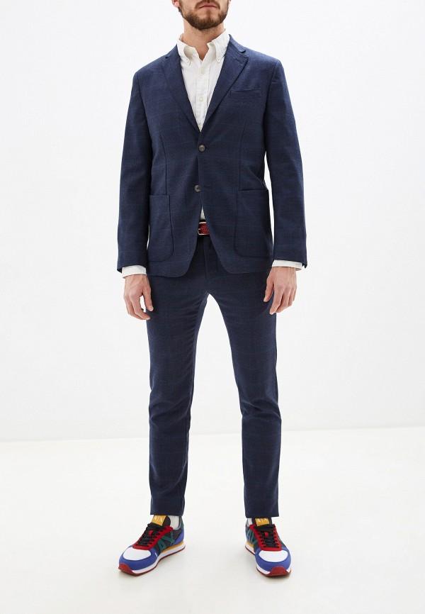 мужской классические костюм seventy, синий