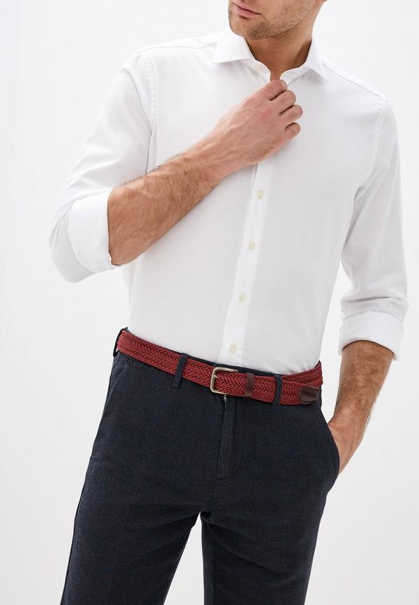мужская рубашка с длинным рукавом seventy, белая