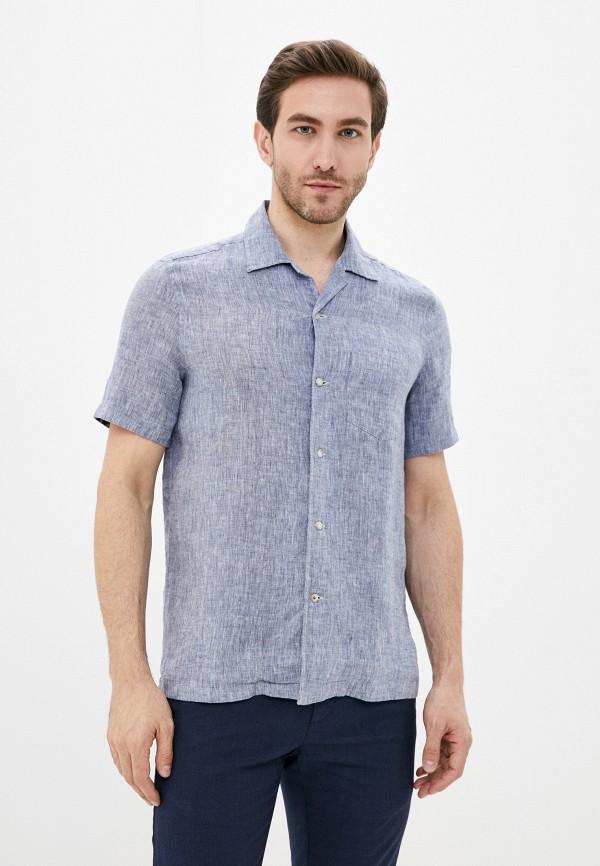 мужская рубашка с коротким рукавом seventy, серая