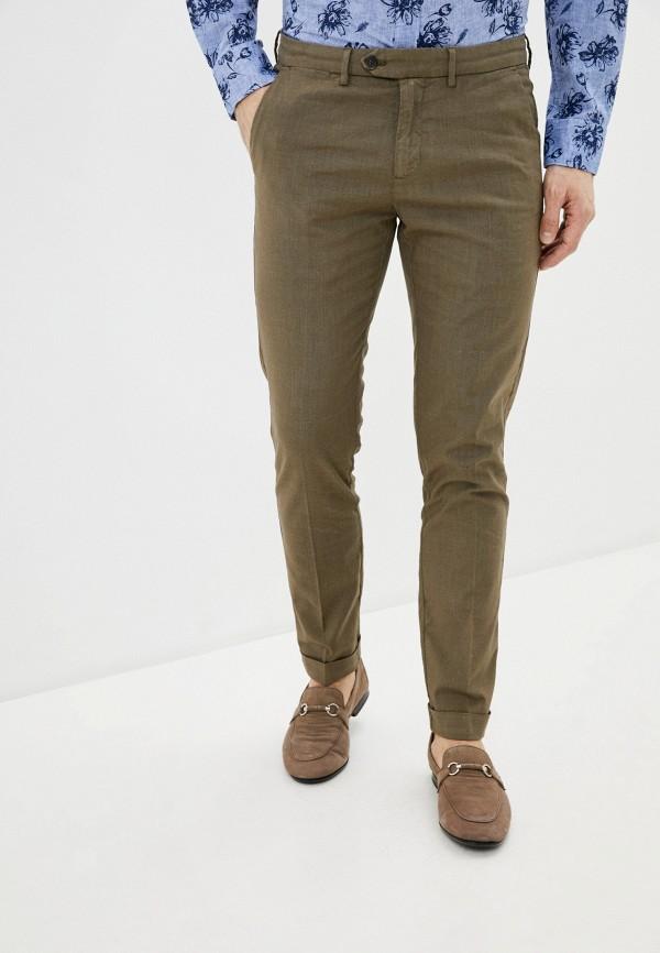 мужские повседневные брюки seventy, коричневые