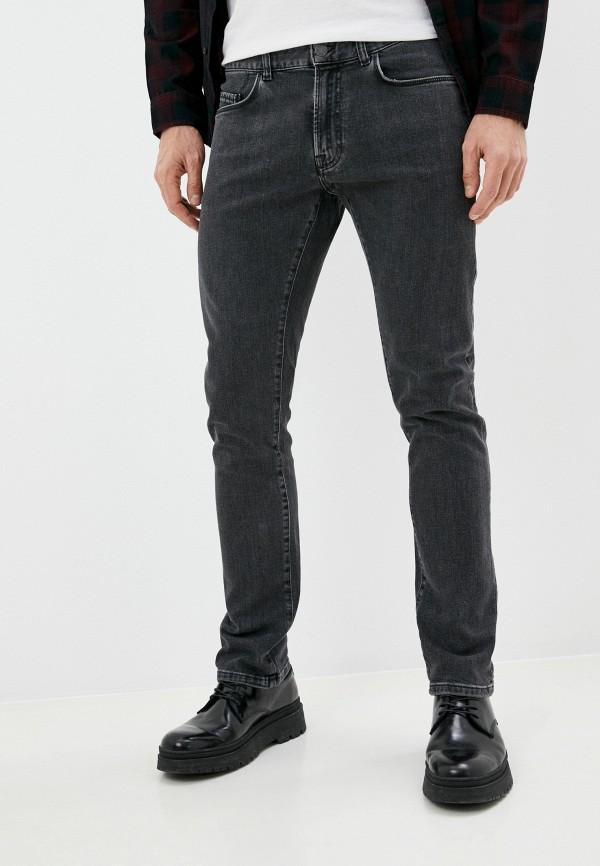 мужские зауженные джинсы seventy, серые