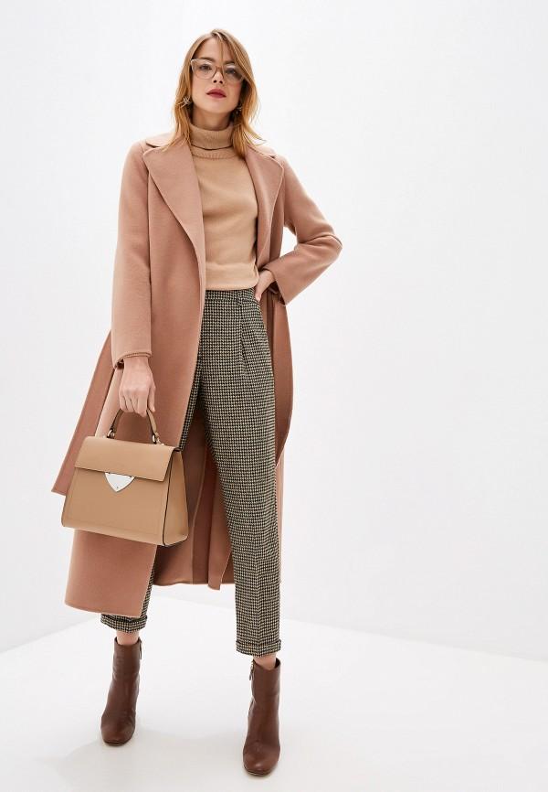 женское пальто seventy, бежевое