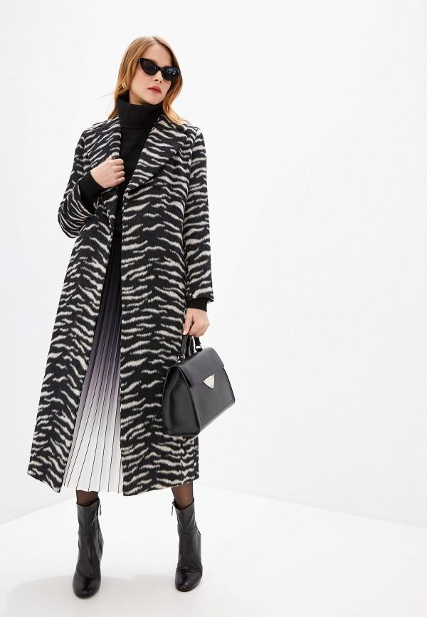 женское пальто seventy, черное