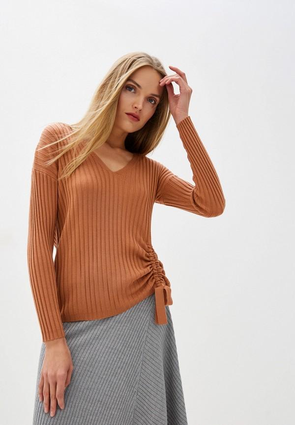 женский пуловер seventy, коричневый