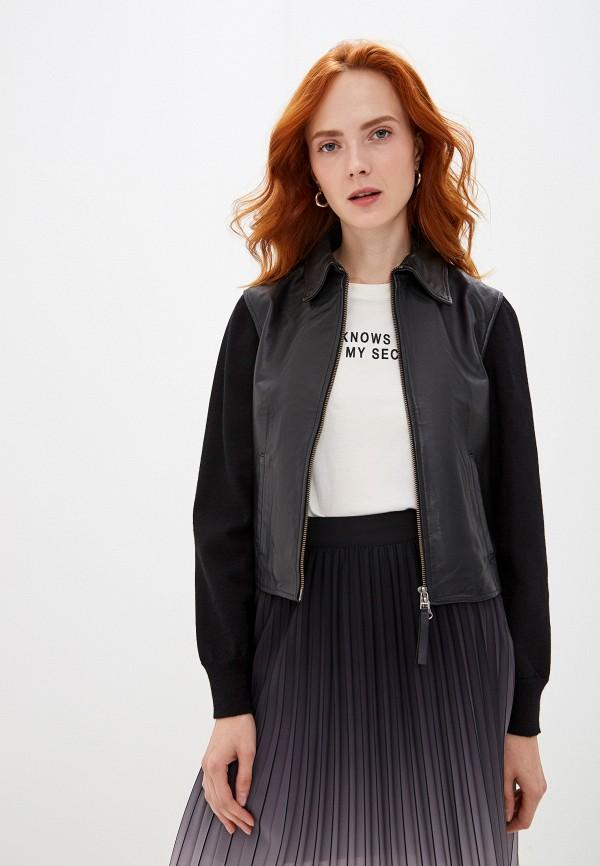 женская куртка seventy, черная