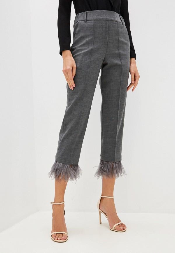 женские брюки seventy, серые