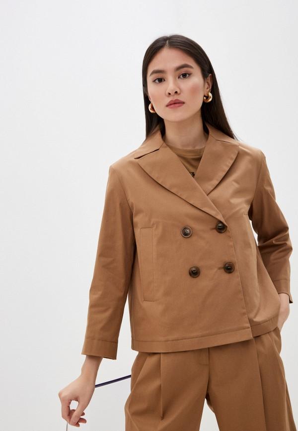 женская легкие куртка seventy, бежевая